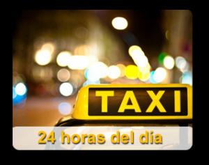 Servicio de taxi las 24 horas