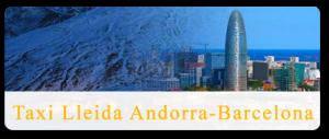 Taxi de Andorra a Barcelona