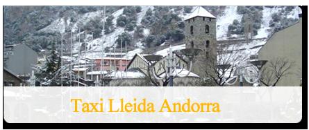 Traslado en taxi a Andorra
