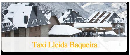 Traslado en taxi a Baqueira