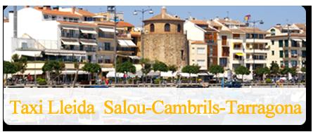 Traslado en taxi a Salou, Cambrils y Tarragona
