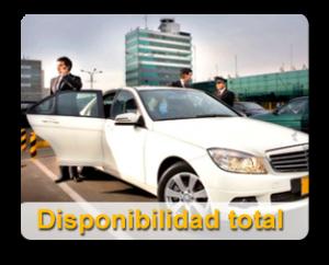 Servicio de taxi con disponibilidad total