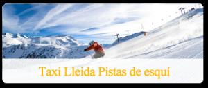 TaxiLleida pistas de esquí