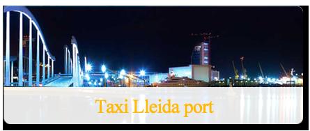 Traslado a puerto en taxi
